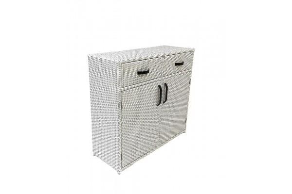 Комод White- мебель из ротанга