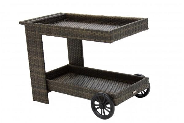 Тележка сервировочная- мебель из ротанга