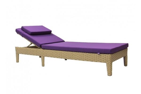 Шезлонг Poltava- мебель из ротанга