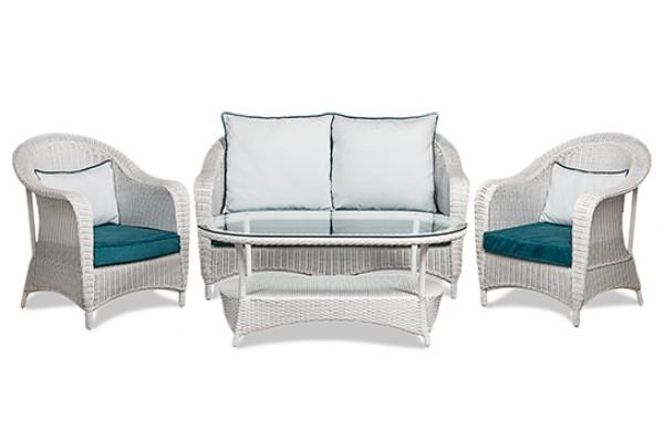 Комплект мебели LOUNGE White- мебель из ротанга