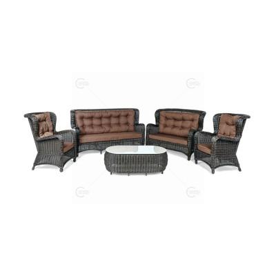 Комплект  плетеной мебели Grand Mega