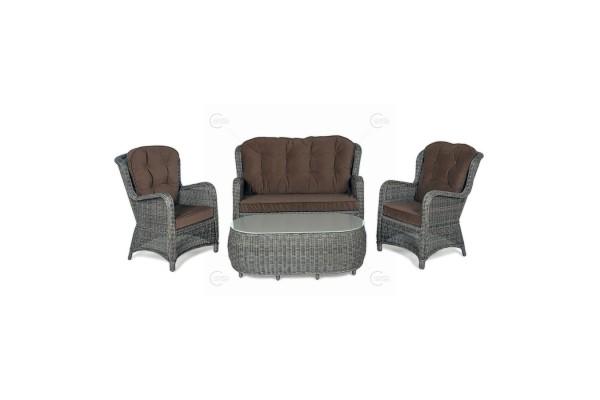 Набор EVITTA Brown- мебель из ротанга