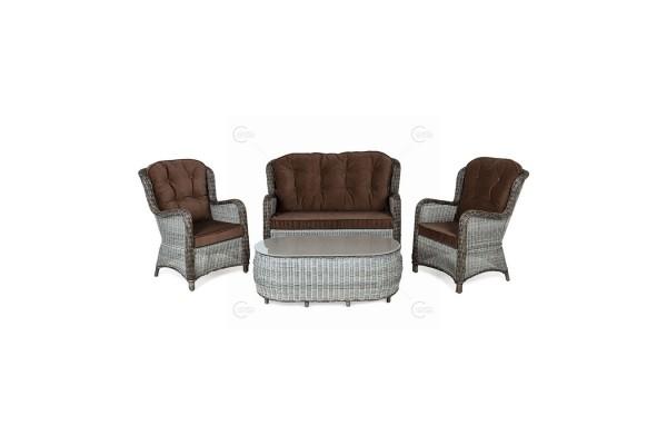 Набор Evitta Choсolate- мебель из ротанга
