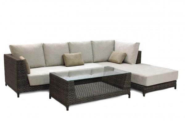 Набор угловой Melburn- мебель из ротанга