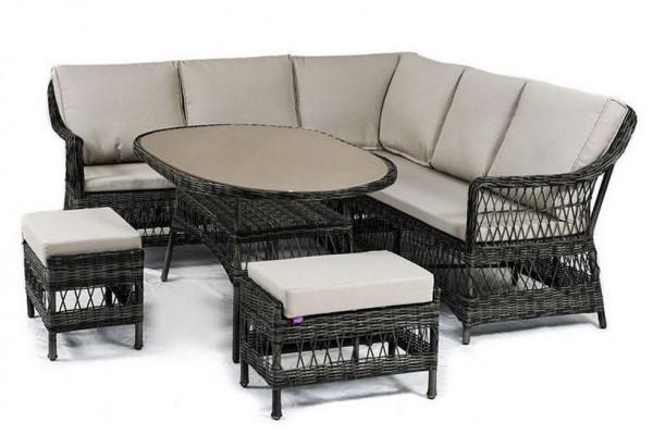 Угловой набор Beatrise- мебель из ротанга