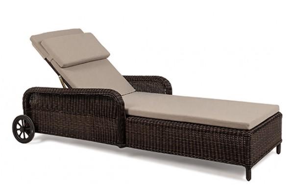 Шезлонг EVITTA  Brown- мебель из ротанга