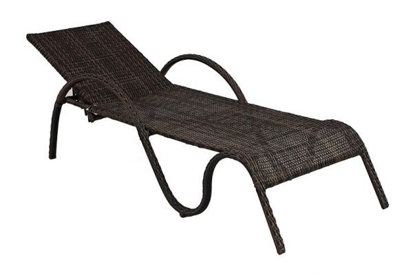 Шезлонг Cyprus- мебель из ротанга